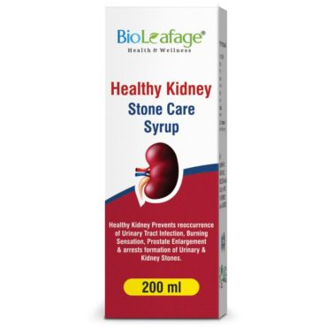Bio Leafage Healthy Kidney Stone Care Syrup (200 ml Each)