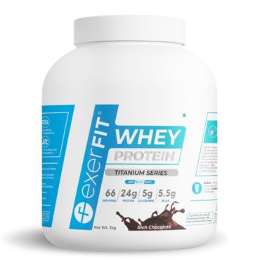 Titanium Whey - FRONT RICH CHOCOLATE