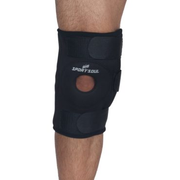 SportSoul Hinged Knee Support with Open Patella