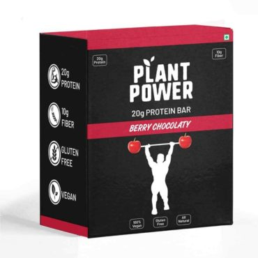 Plant Power Protein Bar Plant Protein Combo (20gm Each) (Pack of 6)
