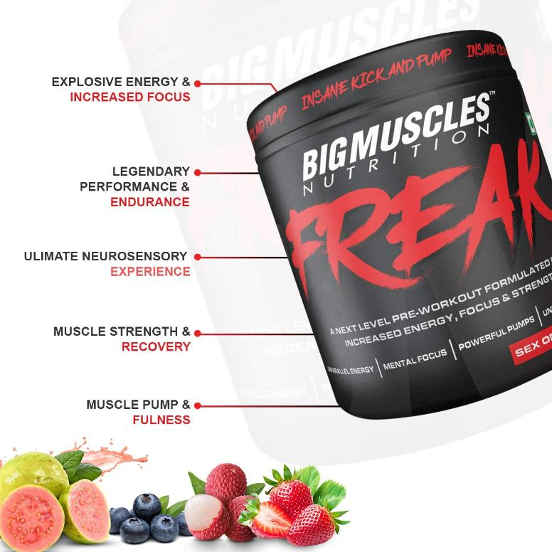 Bigmuscles Nutrition Freak Pre-Workout 30 Servings