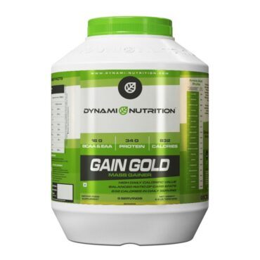 Dynami Nutrition Gain Gold Mass Gainer 2.2 lbs (Banana)