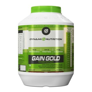 Dynami Nutrition Gain Gold Mass Gainer 2.2 lbs (Chocolate)