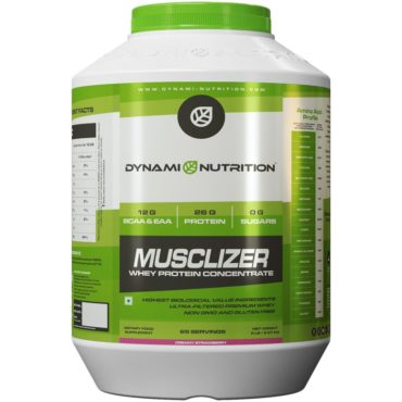 Dynami Nutrition Musclizer Whey Protein 5 lbs (Strawberry)