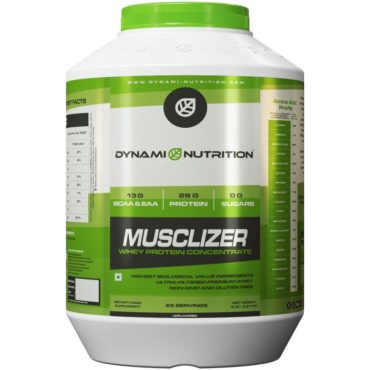 Dynami Nutrition Musclizer Whey Protein 5 lbs (Unflavored)