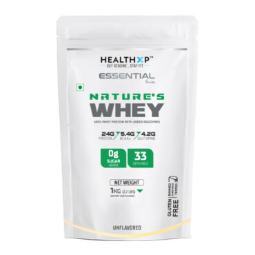 HealthXP Nature's Whey - 2.2lb Unflavoured