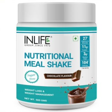 Inlife Nutritional Meal Shake -500 gm (Chocolate)