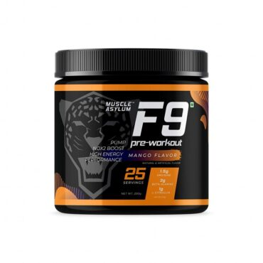 Muscle Asylum F9 Pre-Workout - 25 Servings 200gm