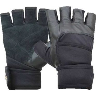Nivia Pro Grip Gym & Fitness Gloves (Black)