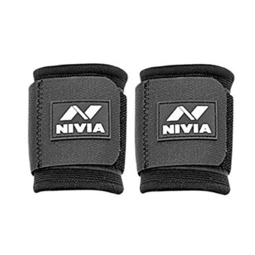 Nivia Wrist Support Pack of 2 (Black)