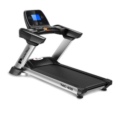 PowerMax Fitness TAC-650 5HP AC Motorized Treadmill with Auto Inclination