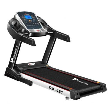 PowerMax Fitness TDA-125 2.0 HP Motorized Treadmill for Cardio Workout
