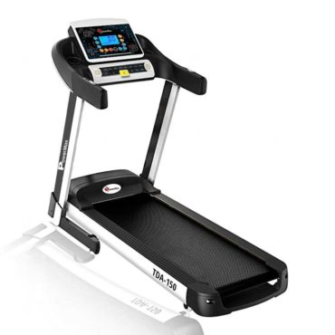 PowerMax Fitness TDA-150 2.5 HP Motorized Treadmill for Cardio Workout