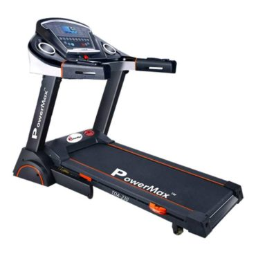 PowerMax Fitness TDA-230 2.0 HP Motorized Treadmill with Workout Sessions