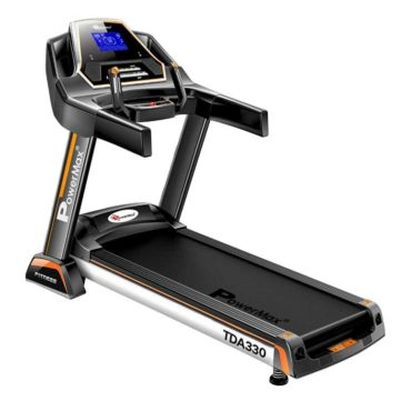 PowerMax Fitness TDA-330 3.0 HP Motorized Treadmill with Auto Incline for Daily Workout