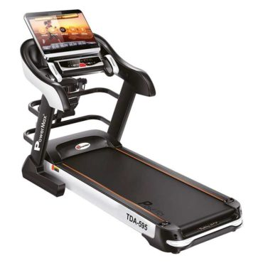 PowerMax Fitness TDA-595 (4.0 HP) Motorized Treadmill for Daily Workout