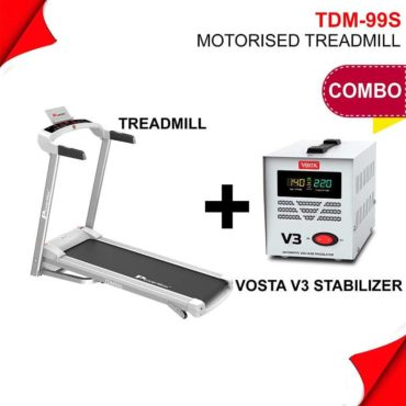 PowerMax Fitness TDM-99S (1.5HP) Treadmill for Jogging & Running at Home