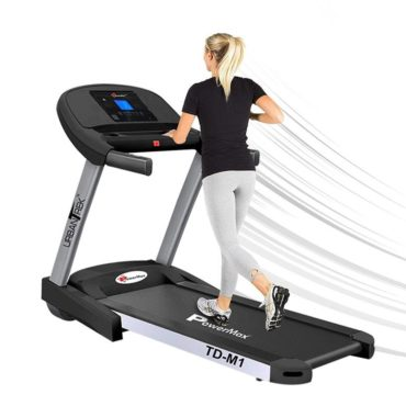 PowerMax Fitness UrbanTrek TD-M1 - (2.0HP) Plug and Run Treadmill with Android & iOS App