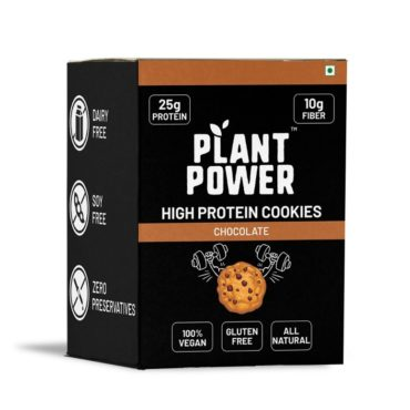 Plant Power High-Protein Cookies (100gm Each)