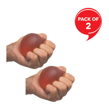 Medtrix Gel Hand & Finger Exerciser Ball(Pack of 2)