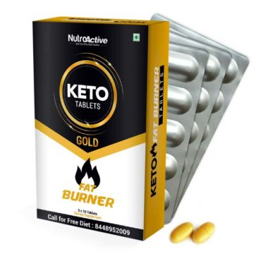 NutroActive Keto Tablets Fat Burner for Weight Loss - 30 Tab