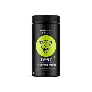 Muscle Asylum Test Plus - Testosterone Booster Estrogen Blocker Kidney Detox - 60 Tablets