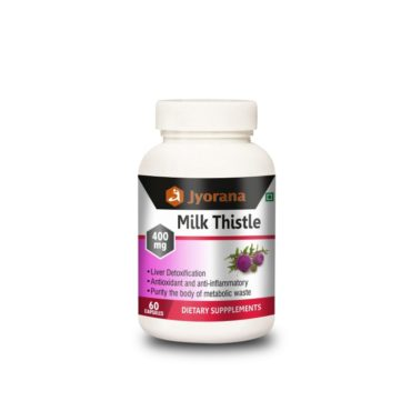Jyorana Milk Thistle 400mg - 60 Capsules