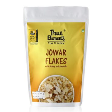 True Elements Jowar Flakes with Honey And Almonds 400gm(Pack of 2)