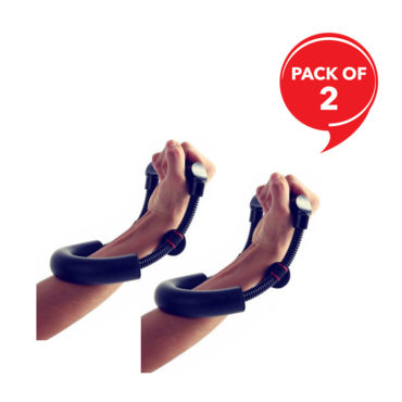 Strauss Adjustable Wrist Forearm Strengthener-(Pack of 2)