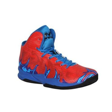 Nivia Phantom-2017 Basketball Shoe Red Blue