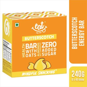 EAT Anytime Butterscotch Energy & Nutrition Bars 240g (Pack of 6)