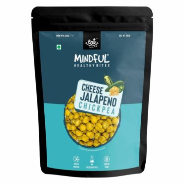 EAT Anytime Mindful Cheese & Jalepeno Pepper Roasted Chick Peas 400g
