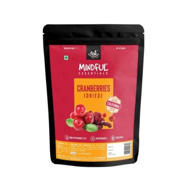 EAT Anytime Mindful Dried Californian Cranberries 400g