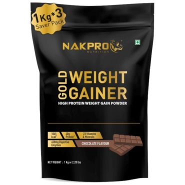Nakpro Gold Weight Gainer 3kg Chocolate