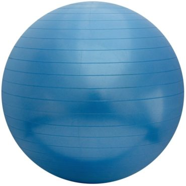 Physique Anti Burst Gym Ball with Foot Pump 85 cms Blue