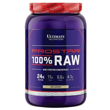 Ultimate Nutrition Prostar 100% Raw Whey Protein