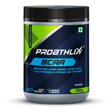Proathlix BCAA with L-Glutamine & Vitamin B6-green apple