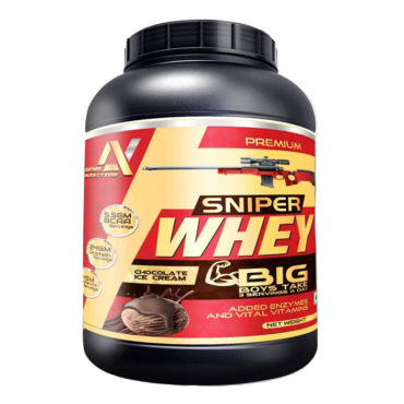 Arms-Nutrition-Sniper-Whey-Protein-With-Enzymes-&-Vitamins-1-Kg-(-jar-)-Chocolate-Ice-Cream