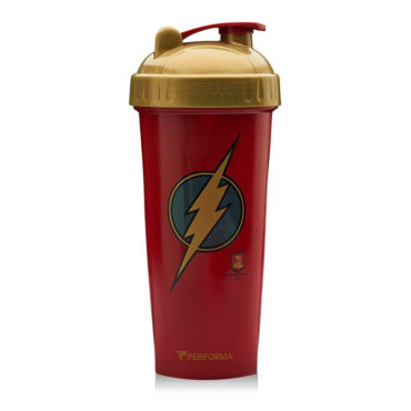 Performa Justice League Leak Free Protein Shaker Bottle, Flash