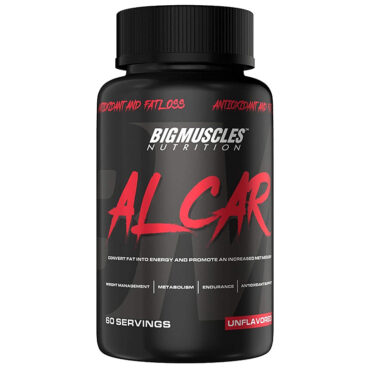 Big Muscles Alcar Natural Fat Burner 60 Tabs