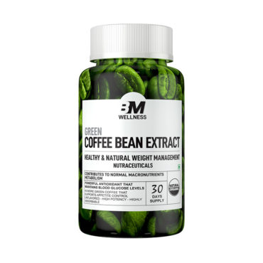 Big Muscles Green Coffee Bean Extract 30 Tabs