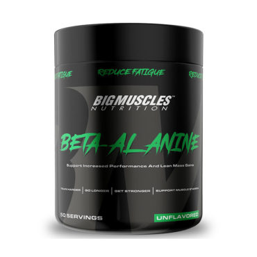 Big Muscles Nutrition Beta Alanine Pre Workout 50 Servings