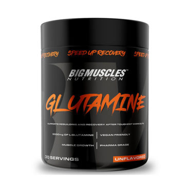 Big Muscles Nutrition Glutamine 30 Servings unflavoured