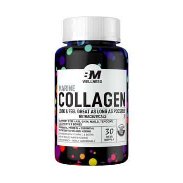 Big Muscles Nutrition Marine Collagen with Vitamin C 90 Tabs
