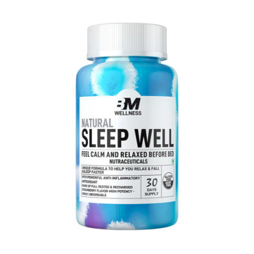 Big Muscles Nutrition Sleep Well 800mg 30 Tablets