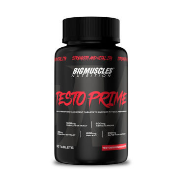 Big Muscles Testo Prime Testosterone Booster 60 Tabs
