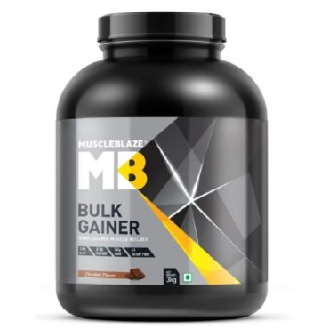 MuscleBlaze Bulk Gainer with Creatine 6 6 lb 3 kg ChocolateA