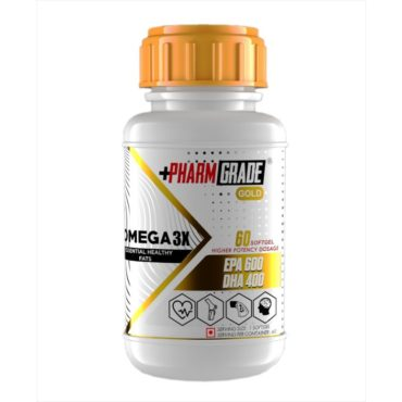 Pharmgrade Omega 3X Fish Oil 60