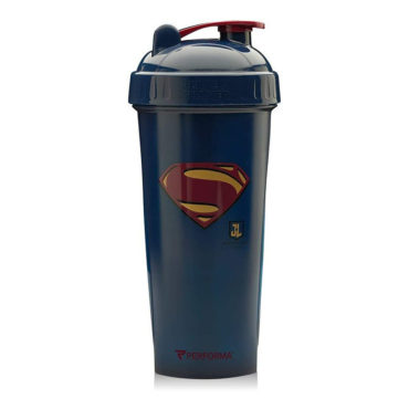 Performa Justice League Leak Free Protein Shaker Bottle, Superman