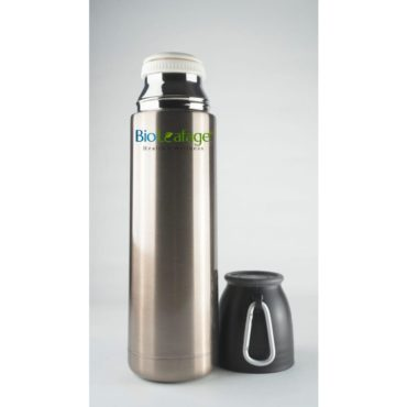 Bio Leafage Stainless Steel-Flask Water Bottle & Sports Bottle 500ml golden1